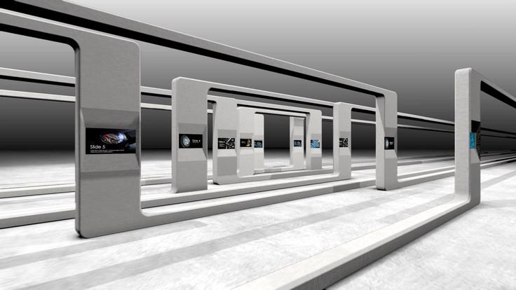 Art gallery 3 wow3d presentation template art gallery 3 toneelgroepblik Images